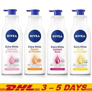 Details about LOT of 2 Nivea Extra White body Lotion, 4 NEW Formula  Whitening Skin Care Repair