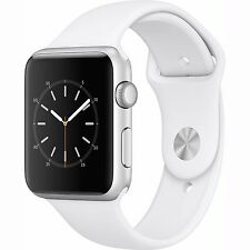 Apple Watch 2 Series 1 42mm Silver Aluminum Case White Sport Band - (MNNL2LL/A)