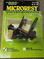 Hha Microrest Microflite Micro Adjustable Windage & Elevation Left Handed