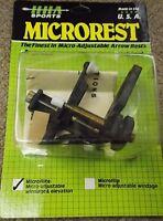 Hha Microrest Microflite Micro Adjustable Windage & Elevation Right Haned