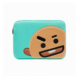 """CHIMMY Laptop Sleeve for 13/"""" Laptop Pouch Case BTS Free Tracking BT21"""