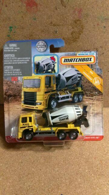 NEW OLD STOCK 4 Packs Vtg Matchboxes Terex GM  Dealer Matches Heavy Equipment