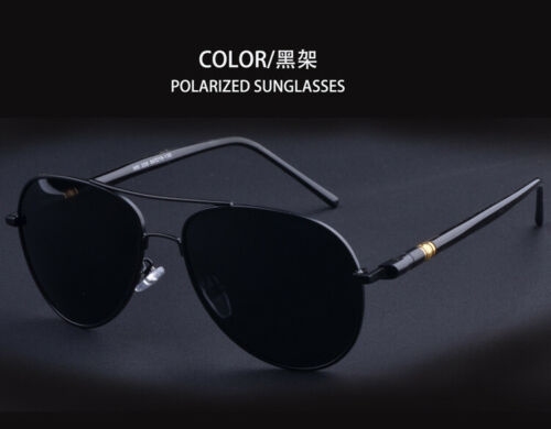 Pilot Polarized Sunglasses Men Uv400 High Quality Aviation Photochromic Driving