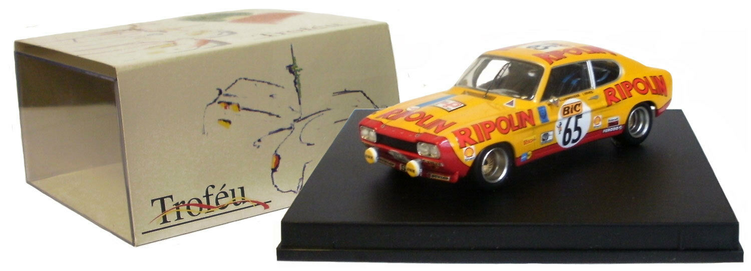 Trofeu 2314 Ford Capri 2600 RS   65 TOUR AUTO 1972-G Larrousse   J Rives 1   43