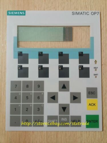 New membrane keypad for Siemens OP7 6AV3607-1JC20-0AX1