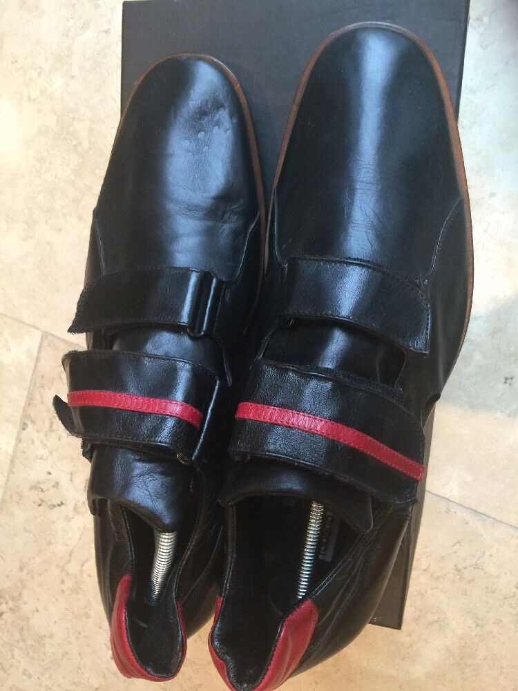 Men's Black,red Roberto Botticelli shoes UK 10