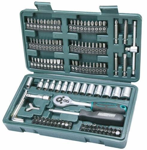 Mannesmann Socket et Bit Set 130 pièces y compris réversible à cliquet poignée