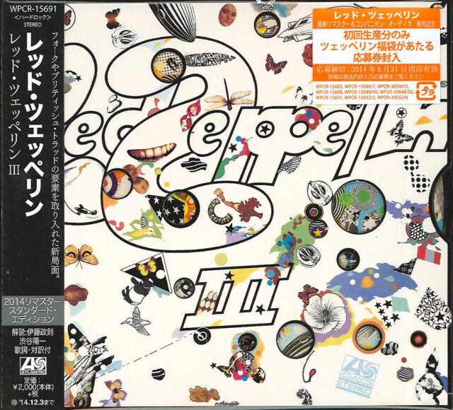 LED Zeppelin-Led Zeppelin III Standard Edition-Japan CD e25