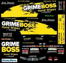 JIM DUNN GRIME BOSS Dodge 2013 NHRA 1/64th HO Scale Slot Car Decals