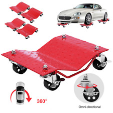 "VIVOHOME 4 Pack Auto Car Wheel Dolly Tire 12""x16"" Skate 6000lb Repair Slide Lift"