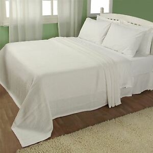 Image Is Loading Organic Cotton White Waffle Blanket Throw Bedspreads Large