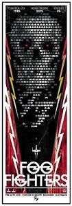 Foo-Fighters-Brisbane-2015-Silkscreen-Concert-Poster-Art-Rhys-Cooper-S-N