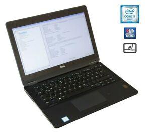 Dell-Latitude-E7270-i7-6600u-8GB-RAM-256GB-SSD-NVME-12-5-IPS-FullHD-DE-UK-ES-ND