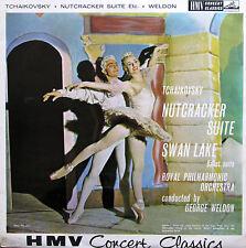 XLP 20024 Tchaikovsky Nutcracker Swan Lake George Weldon HMV Mono NM/EX