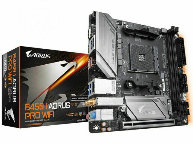 Gigabyte B450 I AORUS PRO WIFI Bluetooth AM4 Mini-ITX Motherborad RGB Fusion