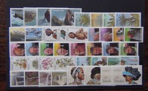 Transkei-1977-1985-sets-Medicine-Waterfalls-Cycads-Tourism-Airways-Plants-MNH