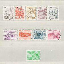 Q7935 - CUBA - 1982 - SERIE COMPLETA ESPORTAZIONI N°2336/45 - VEDI FOTO