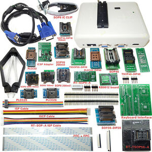 Universal-RT809H-EMMC-Nand-FLASH-Programmer-24-ADAPTERS-WITH-CABELS-EMMC-Nand
