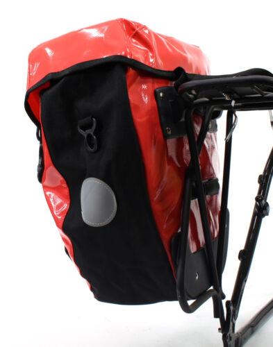 AAWYEAH LARGE WATERPROOF RED BICYCLE PANNIER BAG