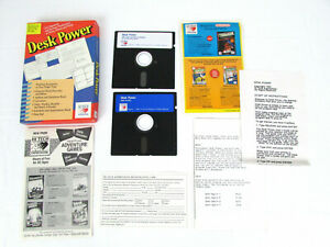 Desk-Power-amp-Print-Power-IBM-amp-Apple-IIGS-Computer-Software-Hi-Tech-Expressions