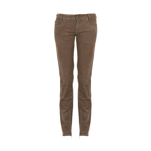 Diesel Pantalon Femmes picino marron taille 28 ancien Prix Recommandé 199,00 €!