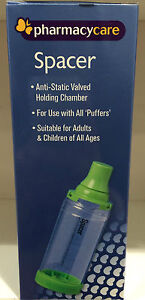 PHARMACY-CARE-SPACER-asthma-COPD-for-ADULTS-CHILDREN-fits-ALL-PUFFERS