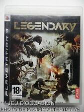 OCCASION: Jeu LEGENDARY PS3 playstation 3 sony francais action charles deckard !