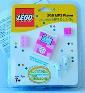 LEGO-Pink-Color-MP3-Player-2GB