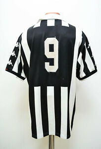 JUVENTUS-ITALY-1998-1999-HOME-FOOTBALL-SHIRT-JERSEY-KAPPA-9-SIZE-XL-ADULT