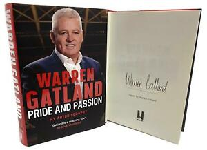 Signed-Book-Pride-and-Passion-My-Autobiography-by-Warren-Gatland-1st-Edition