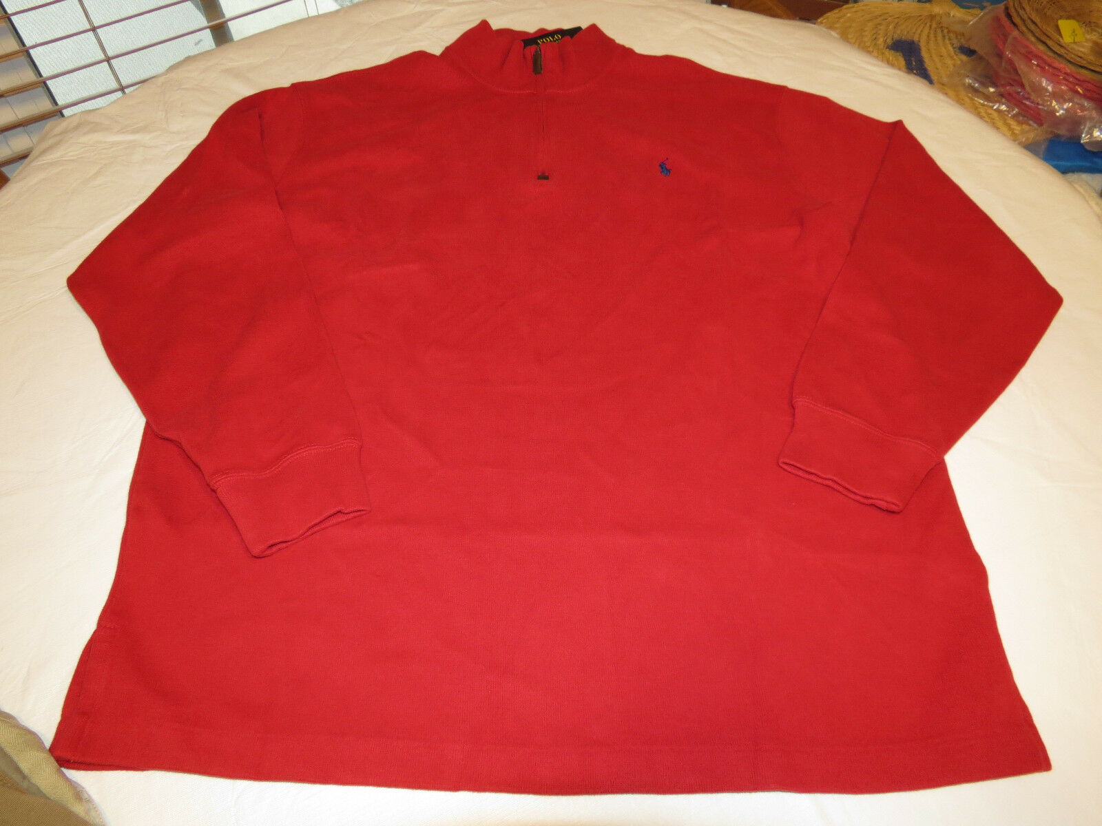 Polo Ralph Lauren sweater sweater Lauren pull over shirt Big & Tall 2XLT TALL Uomo 7115239 rosso e48ab5