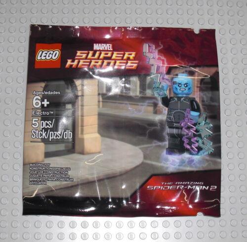 Promo Marvel Exklusiv NEU NEW LEGO 5002125 Super Heroes Electro Polybag