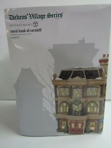 Dept-56-Dickens-Village-Royal-Bank-Of-Cornhill-6003070-Limited-Edition