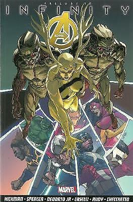 1 of 1 - Avengers Vol.3: Infinity Prologue, Very Good Condition Book, Nick Spencer, Stefa