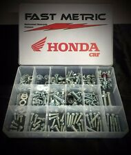 250pc HONDA CRF KIT FOR 450R CRF450R FENDERS SEAT BODY SUBFRAME CHAIN ADJUSTERS