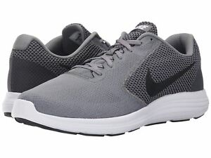 best service 91948 9bd5c Details about Nike Revolution 3 Men's Size Grey Black White 819300002  Running Shoes