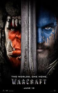Warcraft-A3-Film-Poster-FREE-UK-P-amp-P