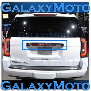 15-16-GMC-Yukon-XL-Triple-Chrome-Upper-Liftgate-Tailgate-Handle-Cover-2016-2017