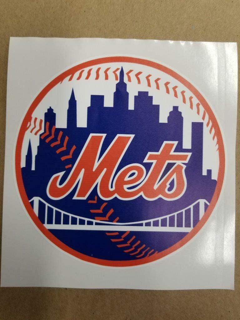 New York Mets cornhole board or vehicle decal(s)NYM3