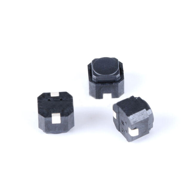 6PCS Mini Switch 12mm Waterproof Momentary Push Button OFF//ON Schalter 250V 10A