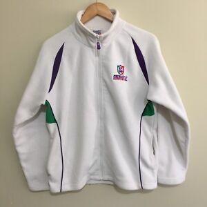 Fremantle-Dockers-Official-AFL-Full-Zipper-Windcheater-Jumper-White-Womens-16