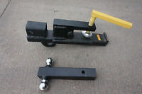 2 Hitch Receiver Clamp Combo, Clamp And Dual Ball Combo