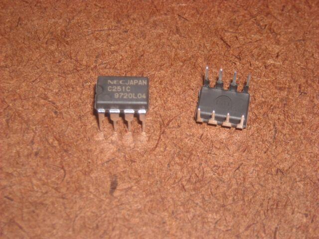 NEC UPC251C DIP-8 GENERAL PURPOSE DUAL OPERATIONAL