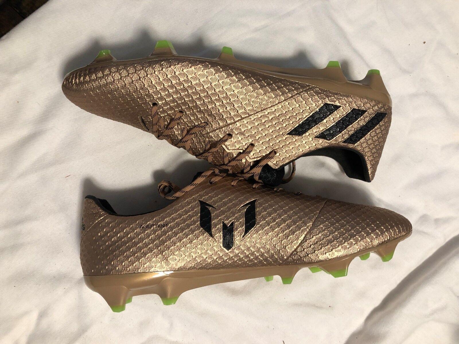 Nuove adidas una messi 16,1 fg ba9109 sz 11 una adidas scatola di rame 2dd199
