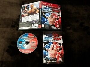 WWE-SmackDown-VS-Raw-2007-Sony-PlayStation-2-PS2-Complete-W-Manual
