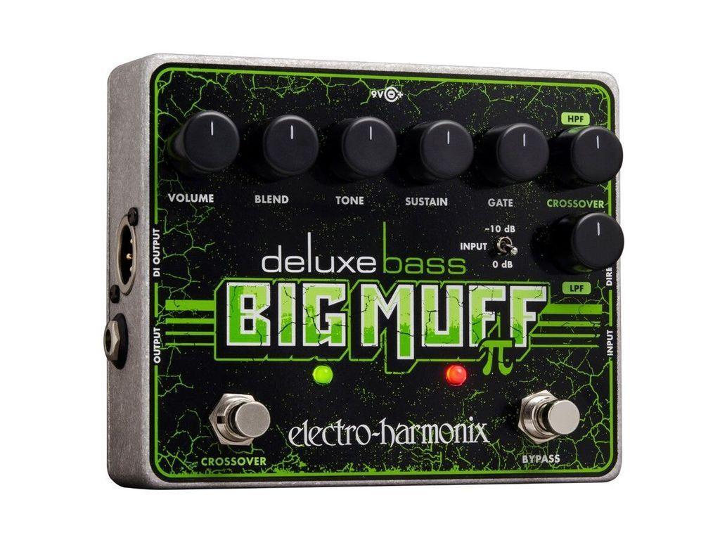 Nuevo Electro-Harmonix Electro-Harmonix Electro-Harmonix Deluxe Bass Muff Pi Distortion Sustainer Pedal Big EHX  primera reputación de los clientes primero