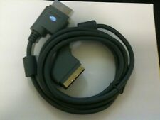 NEW Official Genuine Microsoft XBOX 360 OEM Scart RGB Kabel Cable Original