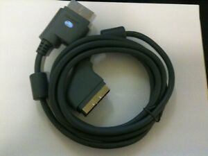 NEW Official Genuine Microsoft XBOX 360 OEM Scart RGB Kabel Cable ...