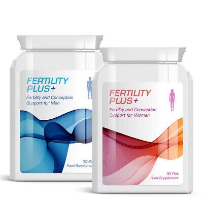 Forte Baby Bundle Fertility Plus Fertility & Conception Support Pills For Men & Women