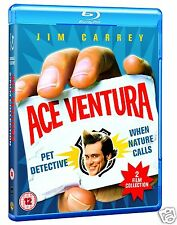 Ace Ventura: Pet Detective + When Nature Calls (Blu-ray)~~Jim Carrey~~NEW SEALED